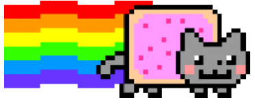 Nyancat, hero of the Conservative Party.
